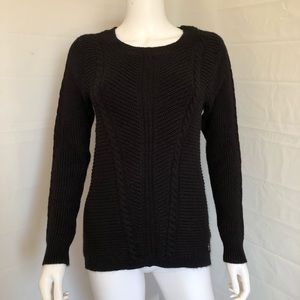 Juicy Couture Black Rabbit Fur Sweater Small